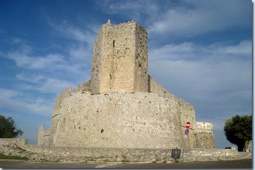 Monte Sant'Angelo - Normannisches Kastell