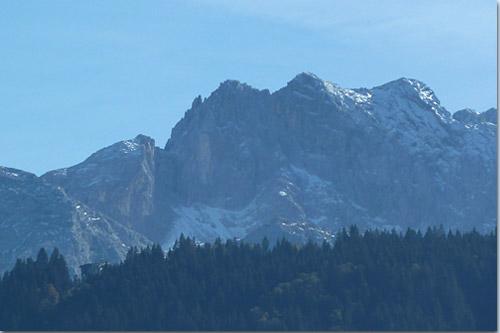 Dreitorspitze und Meilerhütte