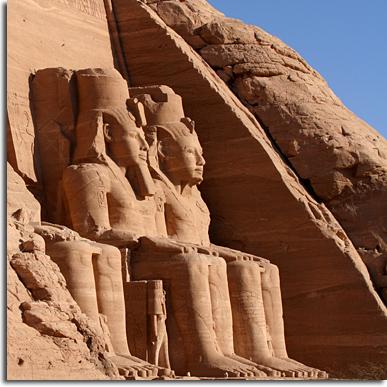 Felsentempel Abu Simbel