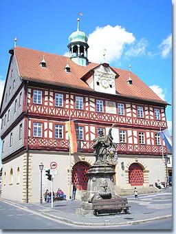 Rathaus von Bad Staffelstein
