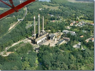 Bahnkraftwerk Muldenstein