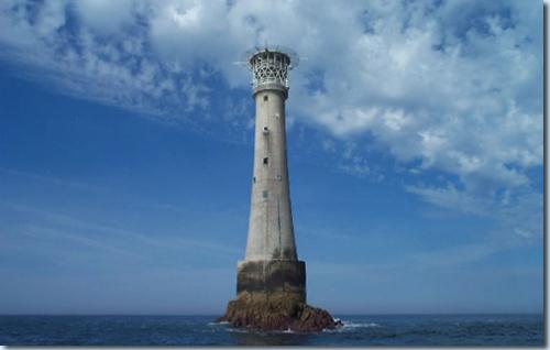 Der Leuchtturm von Bishop Rock