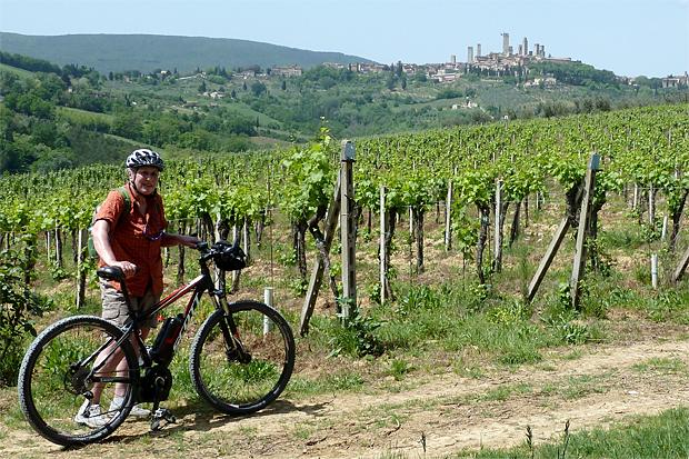 Radln in der Toskana