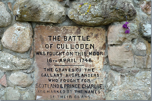 Schlachtfeld Culloden