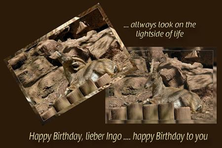 Geburtstagskarte Ingo