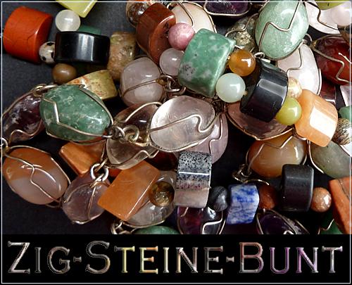 Zig-Steine-Bunt