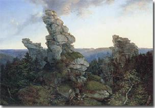 Die Greifensteine im Sächsischen Erzgebirge