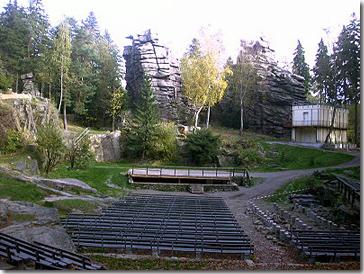 Natursteinbühne Greifensteine