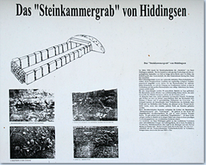 Steinkammergrab in Hiddingsen