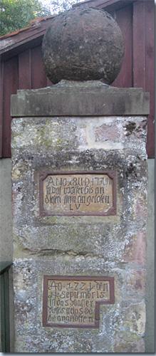 Hochwasserstein