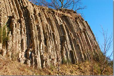 Säulenbasalt am Hummelsberg