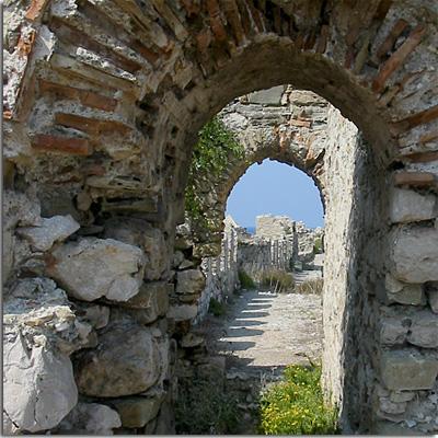 Stadtmauer von Methoni