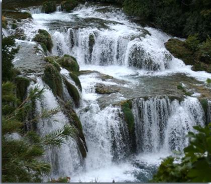 Wasserfälle der Krka