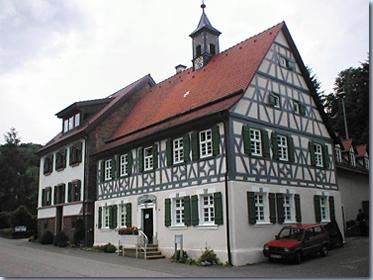 Altes Rathaus in Mörtelstein