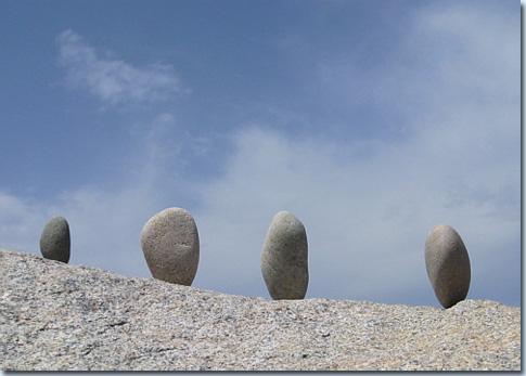 Finde die Balance