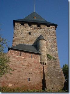 Wohnturm der Burg Nideggen