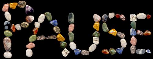 Steinreiche Pause