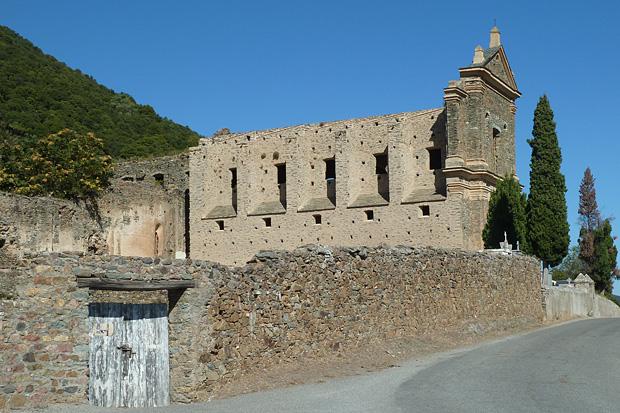 Klosterruine und Point genois