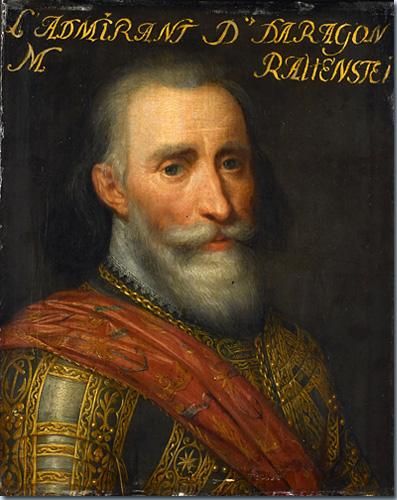 Bildnis des Admirals Hurtado de Mendoza