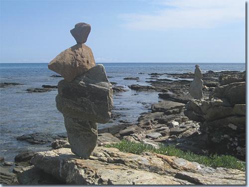 Klippenküste bei Santa Lucia