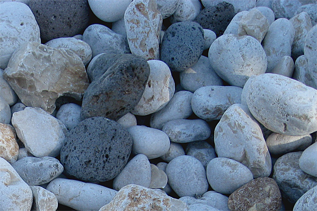 Zwei Kieselsteine