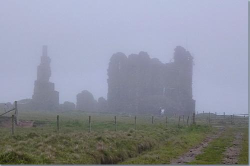 Girnigoe and Sinclair Castle