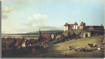 Burg Sonnenstein über Pirna