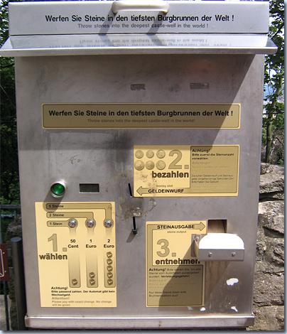 Steinautomat am Kyffhäuser
