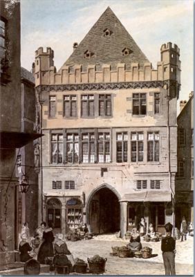 Steinernes Haus in Frankfurt