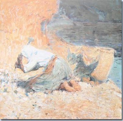 Die Steinklopferin