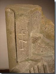 Gotisches Steinmetzzeichen