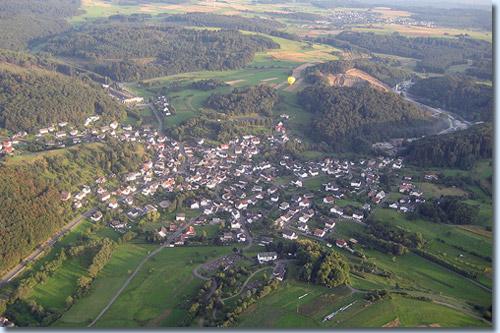 Luftaufnahme Steinperf