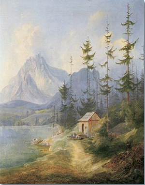 Der Sarstein bei Alt-Aussee