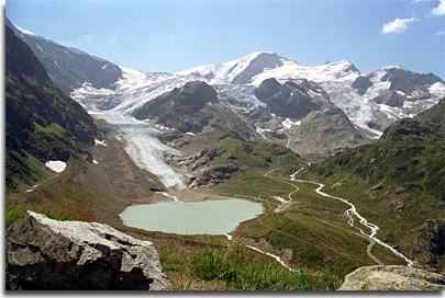 Steingletscher und Steinsee