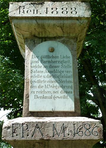 Teufelssäule bei Ohlstadt