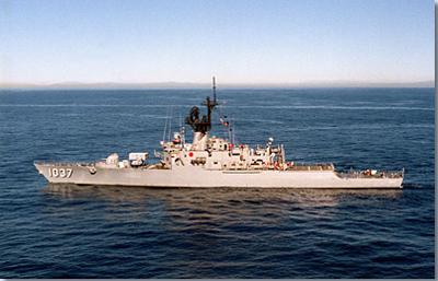 USS Bronstein