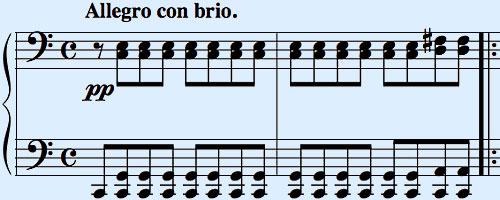 Waldstein-Sonate